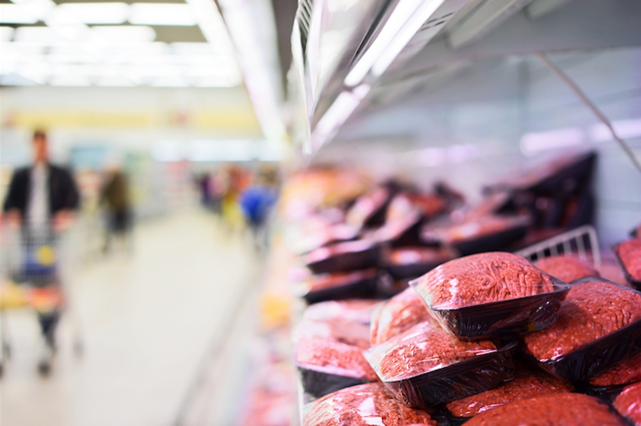 An image of supermarket meat
