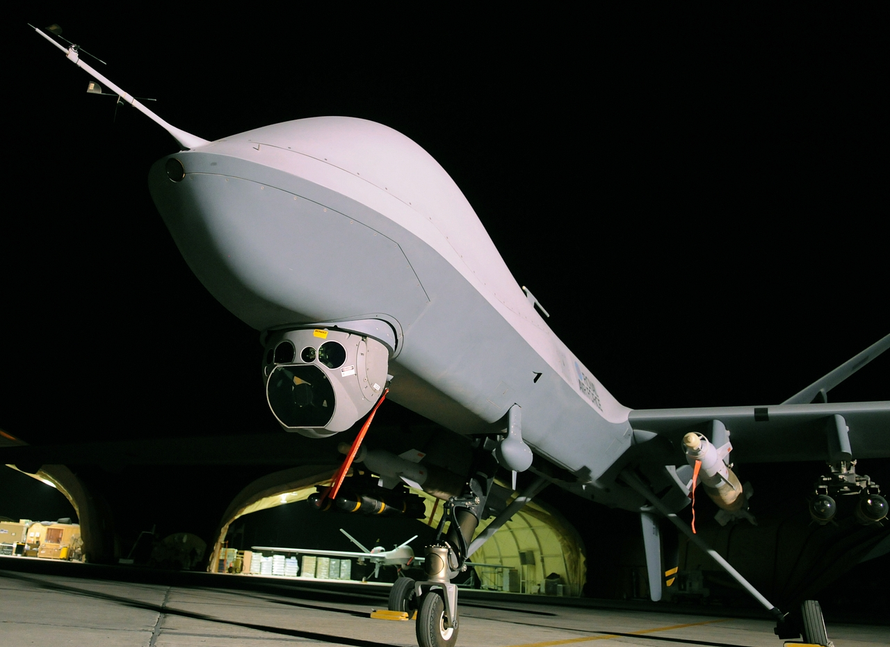 An image of a drone